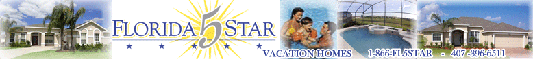 Florida 5 Star Vacation Rental Homes